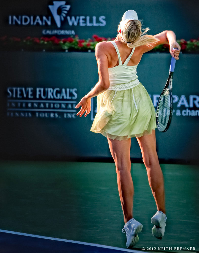 Sharapova at Indian Wells