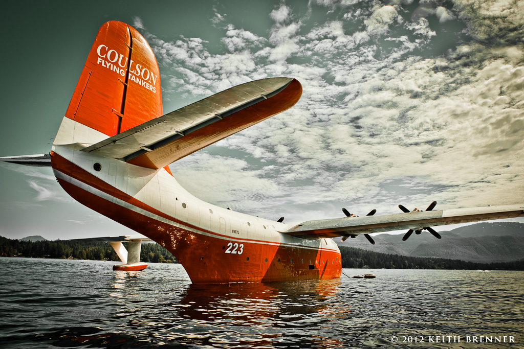Mars Water Bomber, Sprout Lake