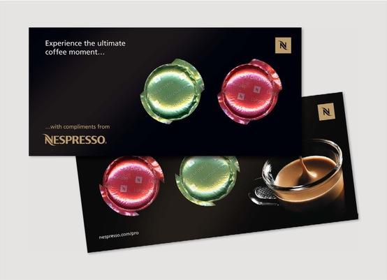 nespresso mailer
