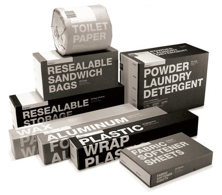 typographic packaging