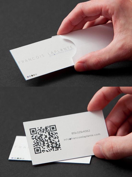 francois la plante business card