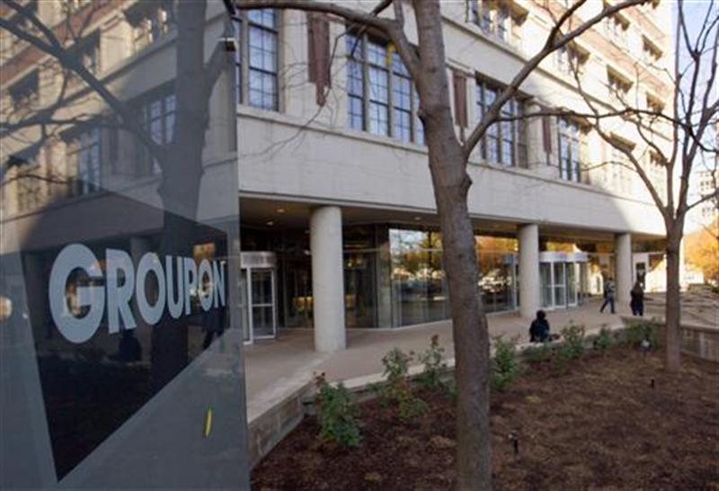 Groupon Inc corporate office and headquarters in Chicago
