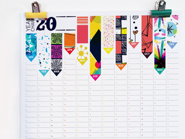 2013 Wall Planner