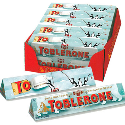 Toblerone Christmas Packaging