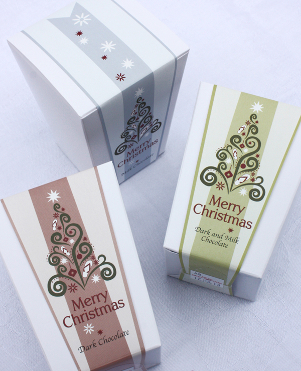 Christmas Chocolate Boxes